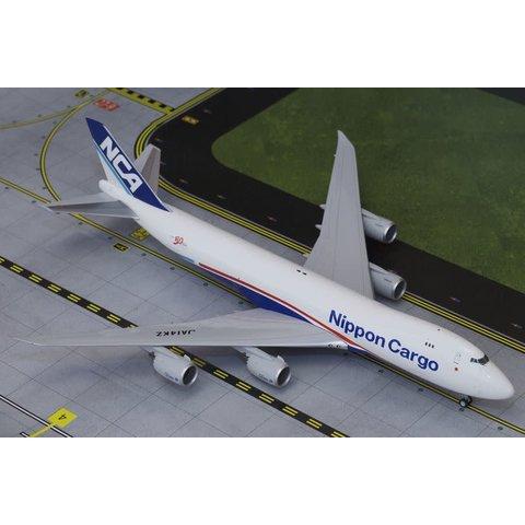 B747-8F Nippon Cargo JA14KZ 1:200 with stand