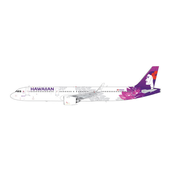 Gemini Jets A321neo Hawaiian N204HA 1:200 (2nd release)