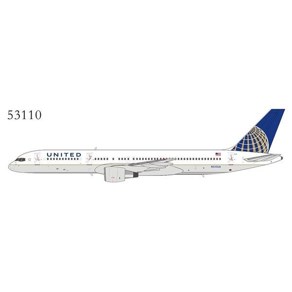 NG Models B757-200 United Airlines 2010 c/s N543UA 1:400