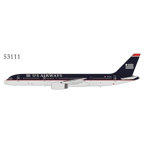 NG Models B757-200 US Airways black 1997 livery N625VJ 1:400