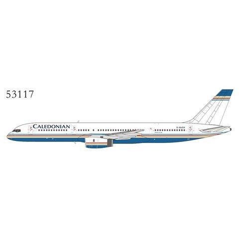 B757-200 Caledonian Ambassador hybrid G-BUDX 1:400