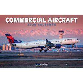 Sparta Calendars Commercial Aircraft Calendar 2020