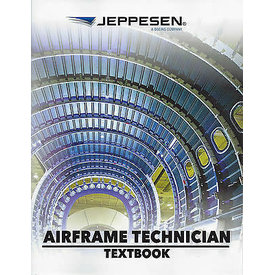 Jeppesen A&P Technician Airframe Textbook softcover