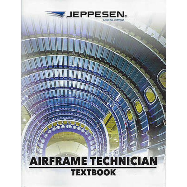 Jeppesen A&P Airframe Technician Textbook softcover