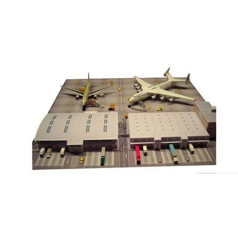 Herpa Cargo Terminal Cardboard 1:500
