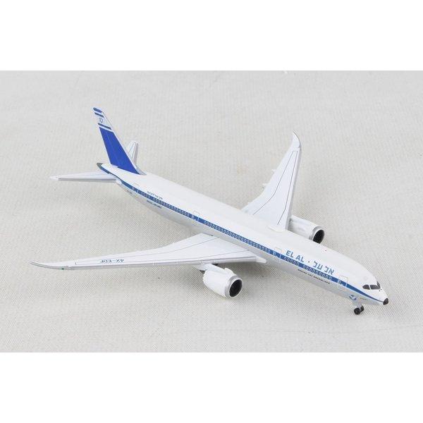 Herpa B787-9 Dreamliner ELAL Retro Rehovot 4X-EDF 1:500