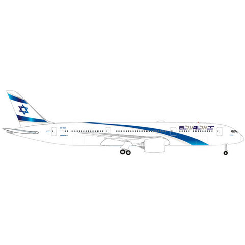 B787-9 Dreamliner ELAL 4X-EDA 1:500