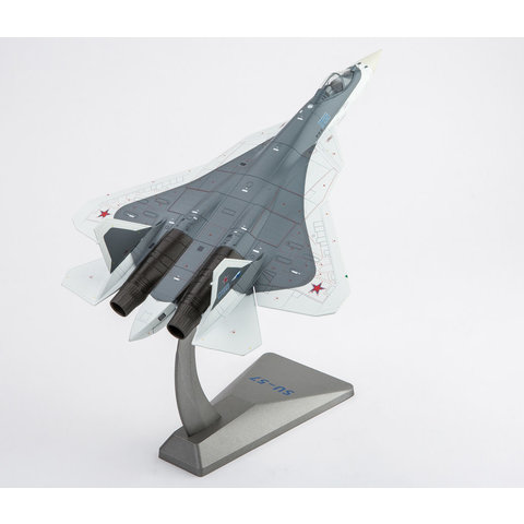 Su57 Russian Air Force BLUE056 grey/white 1:72