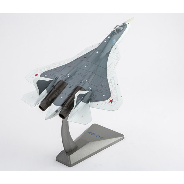 Air Force 1 Model Co. Su57 Russian Air Force BLUE056 grey/white 1:72