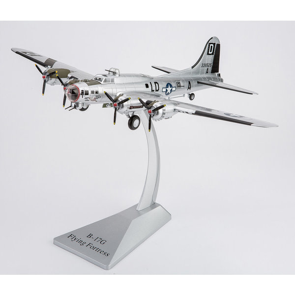 Air Force 1 Model Co. B17G Flying Fortress 481BS 100BG Miss Conduct 1:72