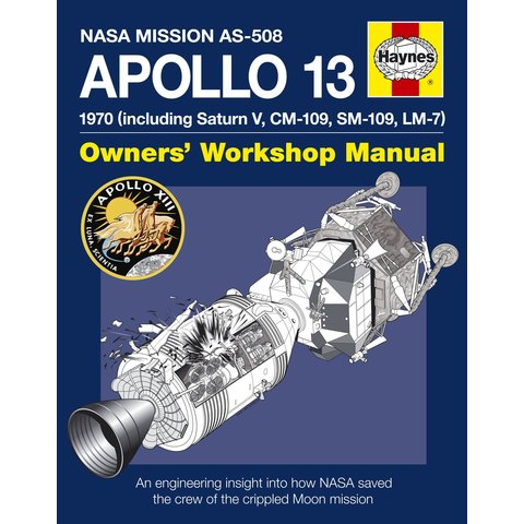 Apollo 13: Owner's Workshop Manual hardcover