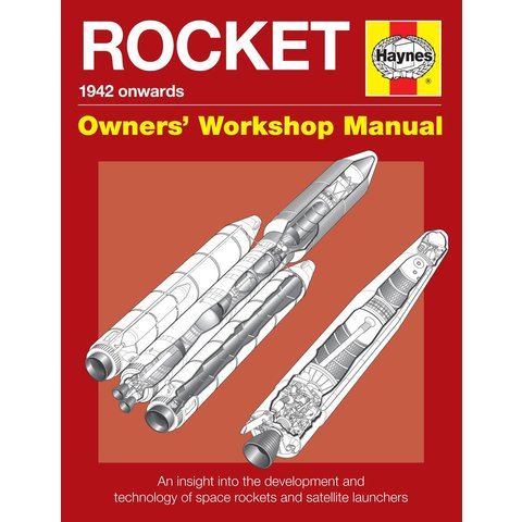 Rocket 1942 Onwards: Owner's Workshop Manual hardcover