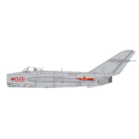 J5 (MIG17) PLAAF China RED0101 1956 1:72