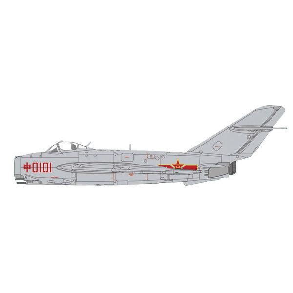 Hobby Master J5 (MIG17) PLAAF China RED0101 1956 1:72