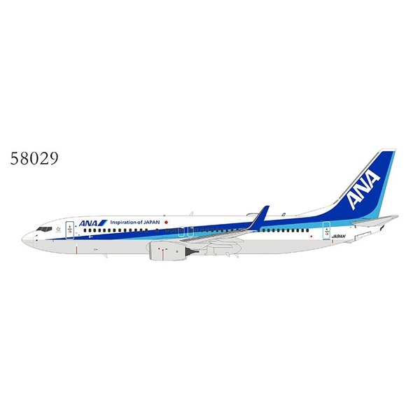 NG Models B737-800W ANA All Nippon Airways JA81AN 1:400