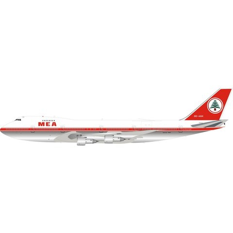 B747-200 MEA Middle East OD-AGH 1:200 Polished