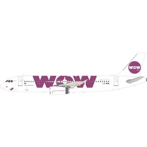 JFOX Airbus A320 Wow Air LZ-WOW 1:200