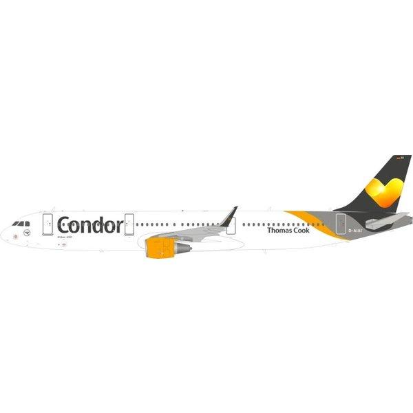 JFOX Airbus A321S Condor D-AIAI sharklets 1:200