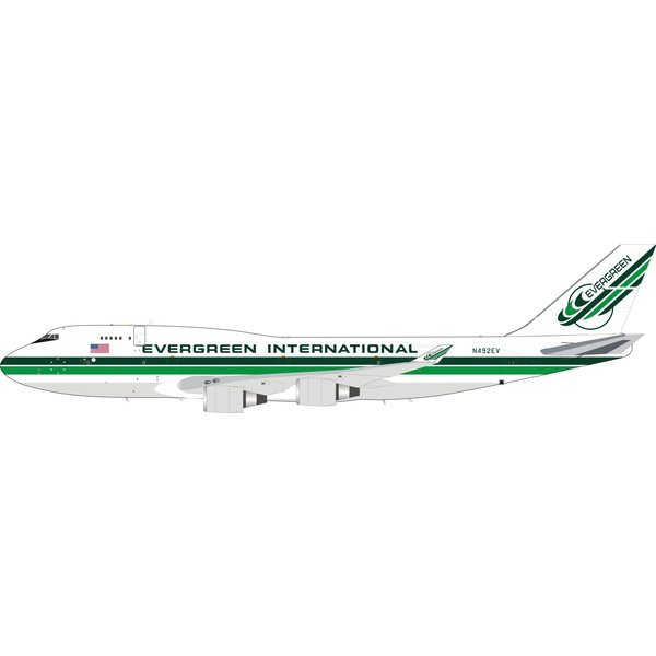InFlight B747-400 Evergreen International N492EV 1:200+NSI+