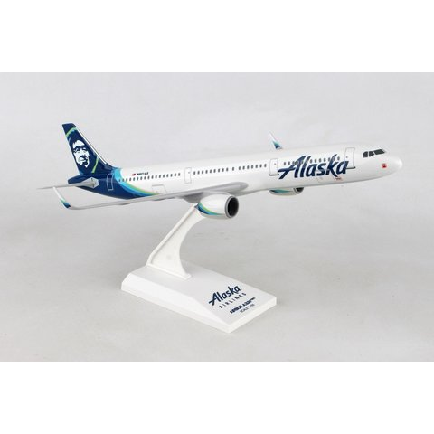 A321neo Alaska Airlines N921VA 1:150 with stand