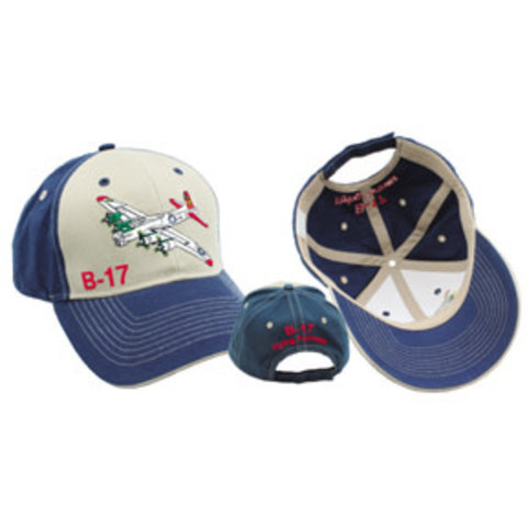 Hat B-17 Embroidered