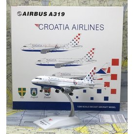 JC Wings A319 Croatian Airlines Bravo Vatreni 9A-CTL 1:200