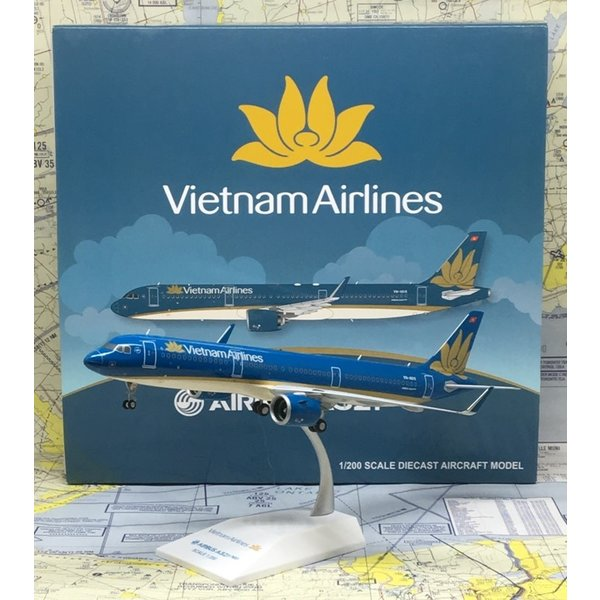 JC Wings A321neo Vietnam Airlines 2014 livery VN-A616 1:200