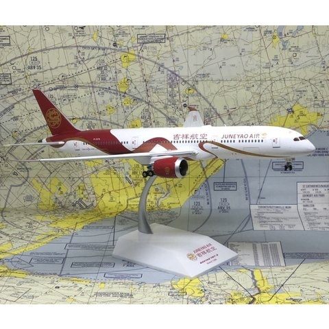 B787-9 Dreamliner Juneyao Ribbon B-207N 1:200