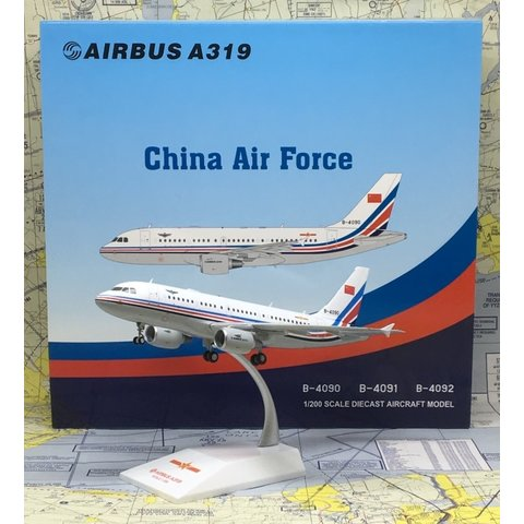 A319 China Air Force PLAAF B-4090 1:200