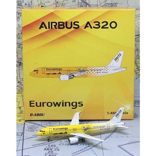 Phoenix A320 Eurowings Hertz D-ABDU 1:400