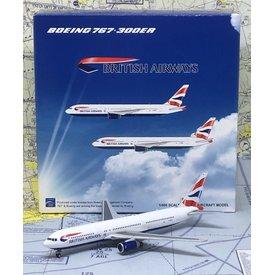 JC Wings B767-300ER British Airways Union G-BZHA 1:400
