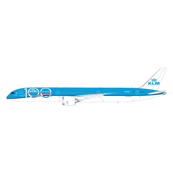 Gemini Jets B787-10 Dreamliner KLM 100 years PH-BKA 1:200