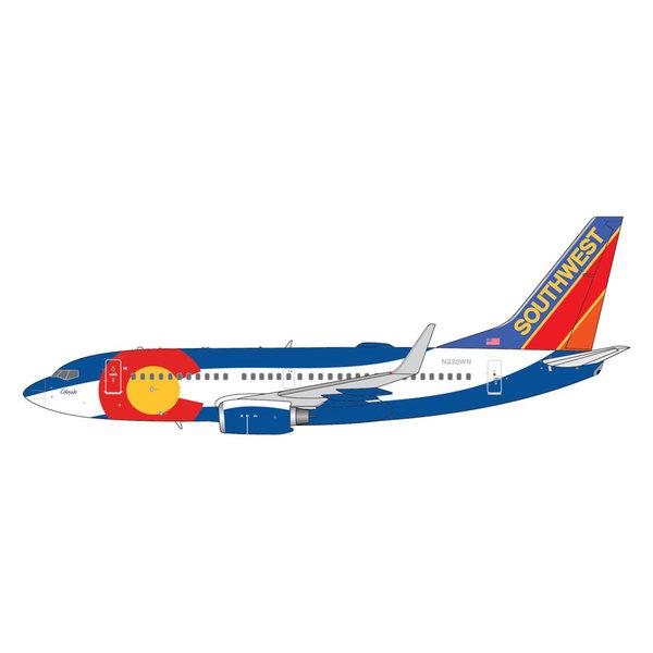 Gemini Jets B737-700W Southwest Colorado One N230WN 1:400