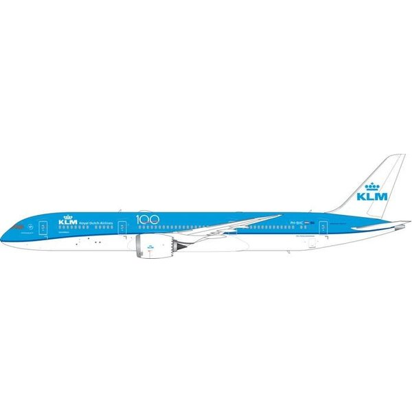 Phoenix B787-10 Dreamliner KLM 100th Years PH-BHC 1:400