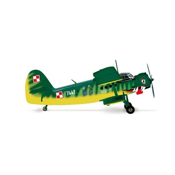 Herpa AN2 Polish Air Force frog Der Wiener 13 ELTR 1:200