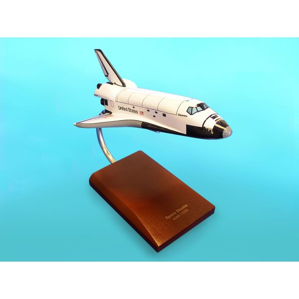 Space Shuttle Discovery Orbiter 1:200 with stand
