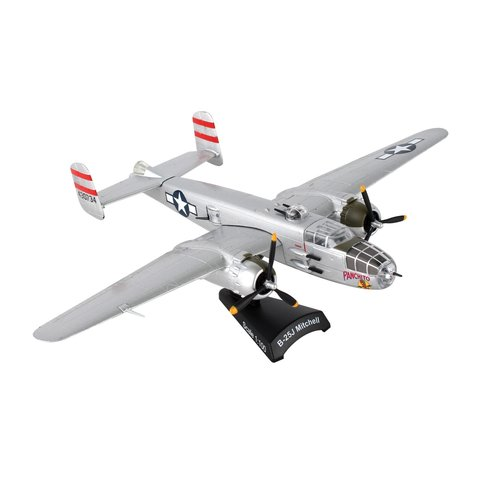 B25J Mitchell USAAF Panchito 1:100 with stand