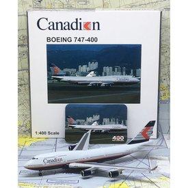 JC Wings B747-400 Canadian Airlines Chevron C-FBCA 1:400 ++SALE++