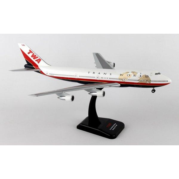 Hogan B747-100 TWA Trans World Final livery 1:200