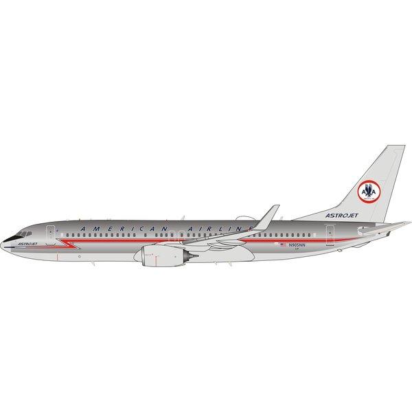 InFlight B737-800W American Astrojet N905NN 1:200 Polished