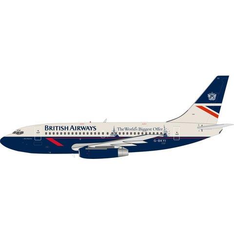 B737-200 British Airways Landor World's Biggest 1:200