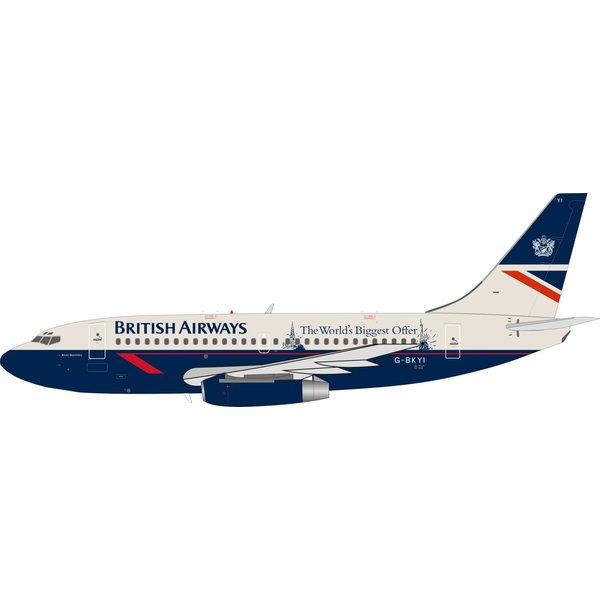InFlight B737-200 British Airways Landor World's Biggest 1:200
