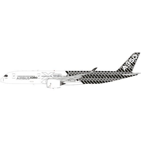InFlight A350-900 Airbus House Carbon Fibre F-WWCF 1:200