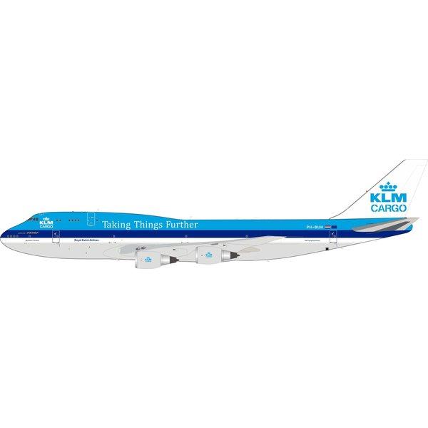 InFlight B747-200F KLM CARGO PH-BUH Taking 1:200