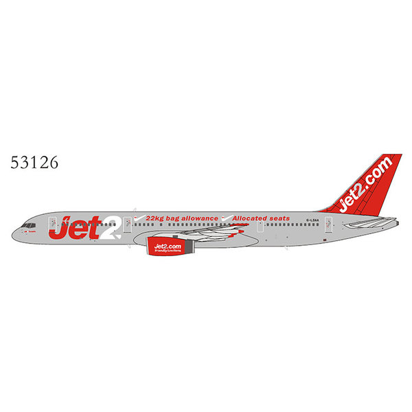 NG Models B757-200 Jet2.com Great Package G-LSAA 1:400
