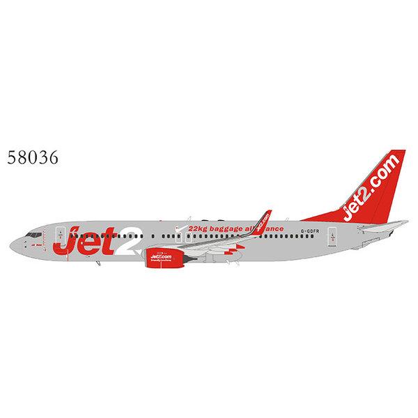 NG Models B737-800W Jet2.com 22 kg baggage G-GDFR 1:400