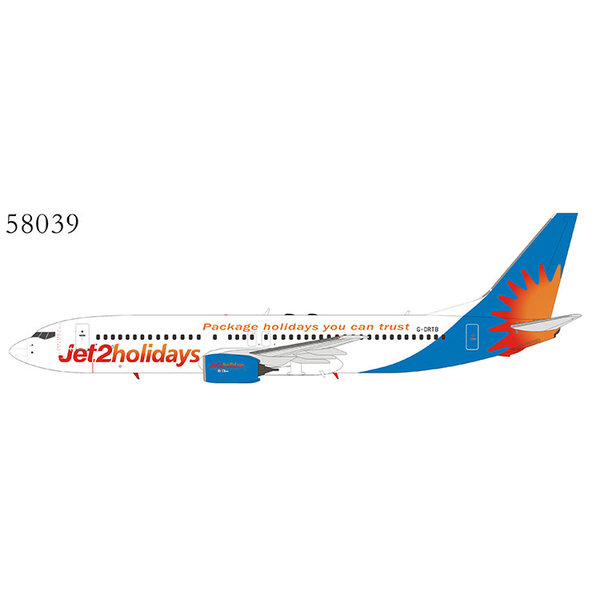 NG Models B737-800W Jet2 Holidays Package G-DRTB 1:400