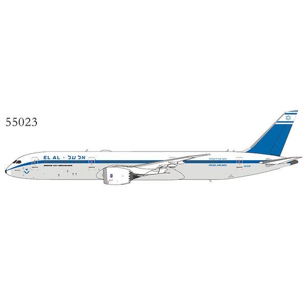 NG Models B787-9 Dreamliner El Al Retro livery 4X-EDF 1:400