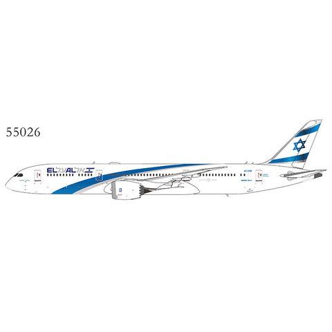 B787-9 Dreamliner El Al 2017 livery 4X-EDB 1:400