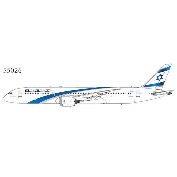 NG Models B787-9 Dreamliner El Al 2017 livery 4X-EDB 1:400